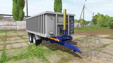 Aluminum trailer pour Farming Simulator 2017