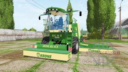 Krone BiG M II v1.1 pour Farming Simulator 2017