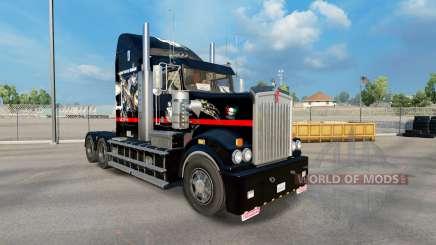 La peau de Big Mama Tatouage sur le tracteur Kenworth T908 pour American Truck Simulator