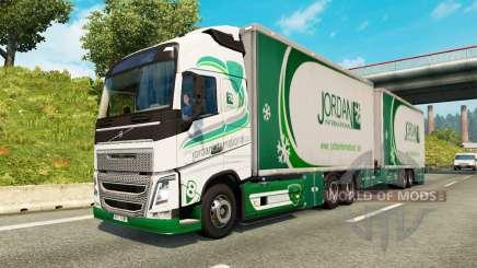 Tandem truck traffic v1.1.1 pour Euro Truck Simulator 2