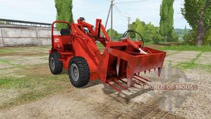 Weidemann 1502DR v2.0 für Farming Simulator 2017