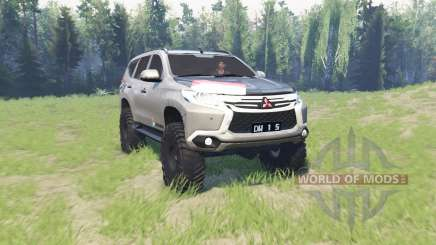 Mitsubishi Pajero Sport pour Spin Tires