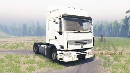 Renault Premium pour Spin Tires