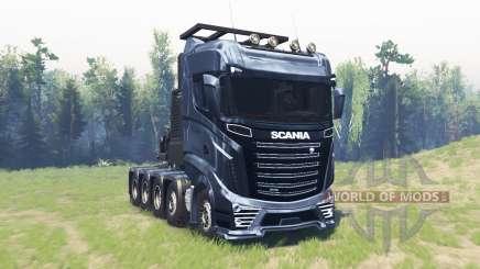 Scania R1000 für Spin Tires
