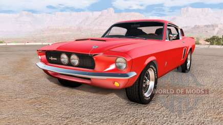 Ford Mustang Shelby GT500 pour BeamNG Drive