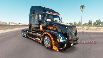 La peau Jackpot sur le tracteur Volvo VNL 670 pour American Truck Simulator