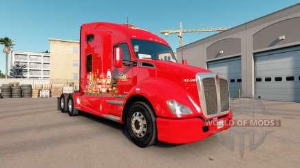 La peau de La Costena sur tracteur Kenworth T680 pour American Truck Simulator