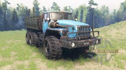 Ural 4320-10 für Spin Tires