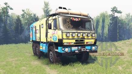Tatra 815 Dakar für Spin Tires