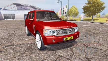 Land Rover Range Rover Supercharged 2009 v2.0 für Farming Simulator 2013