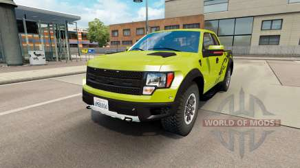 Ford F-150 SVT Raptor v1.6 pour Euro Truck Simulator 2