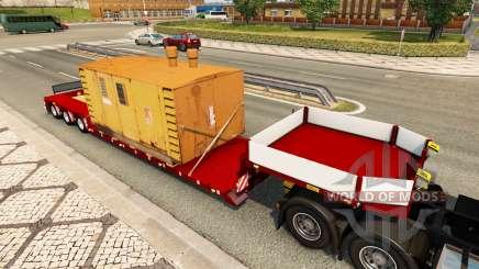 Doll Vario 3-axle v4.1 für Euro Truck Simulator 2
