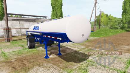 Milk tank semitrailer für Farming Simulator 2017