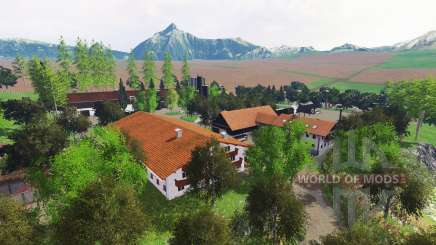 Ammergauer Alpen pour Farming Simulator 2015