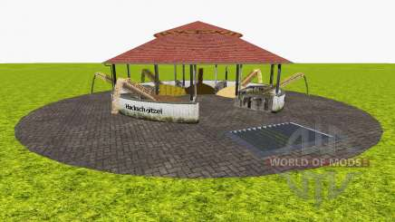 Feed stores around v1.1 pour Farming Simulator 2015