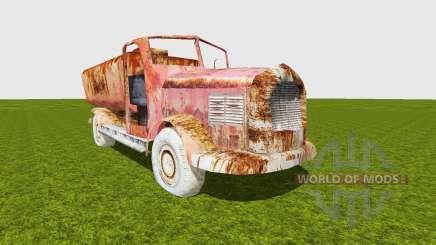 Oil truck damaged für Farming Simulator 2015