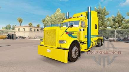 Série bleue de la peau pour le camion Peterbilt 389 pour American Truck Simulator
