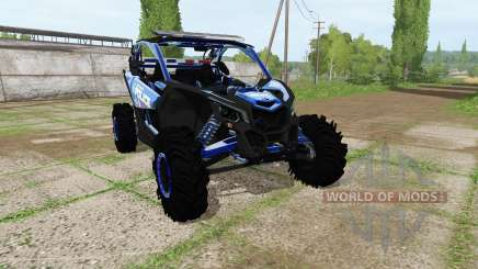 Can-Am Maverick X3 police für Farming Simulator 2017