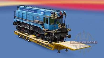 Railway cargo pack v1.7.2 für Euro Truck Simulator 2