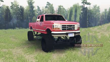 Ford F-350 1995 pour Spin Tires