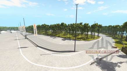 Crecy racetrack pour BeamNG Drive