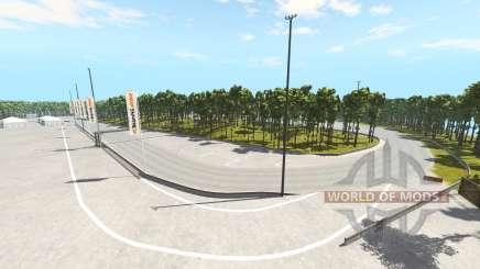Crecy racetrack für BeamNG Drive