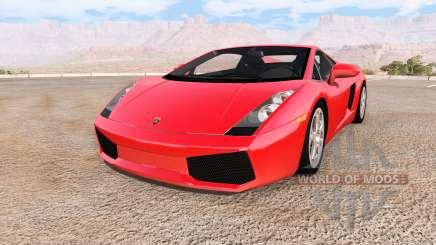 Lamborghini Gallardo 2005 für BeamNG Drive