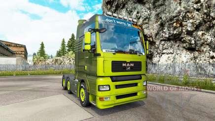 MAN TGA v1.2 pour Euro Truck Simulator 2