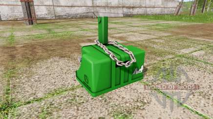Weight John Deere pour Farming Simulator 2017