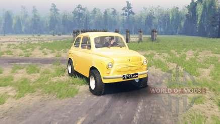 ZAZ 965 Zaporozhets v1.2 pour Spin Tires