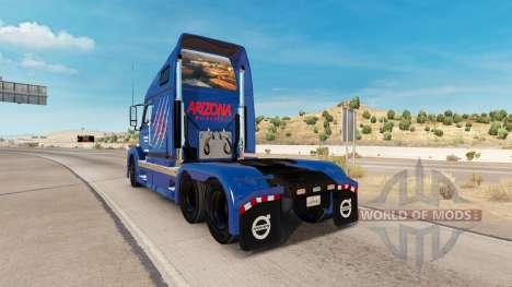 Arizona Wildcats de la peau pour les camions Vol pour American Truck Simulator