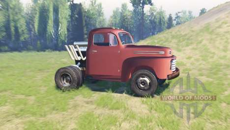 Ford F-6 1950 Stubby Bob pour Spin Tires