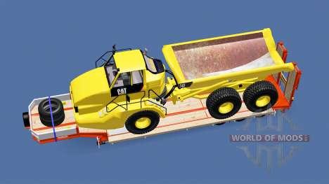 Semitrailer Caterpillar 740 für Euro Truck Simulator 2
