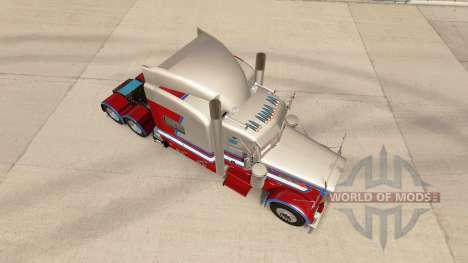 806 LKW-skin für den truck-Peterbilt 389 für American Truck Simulator