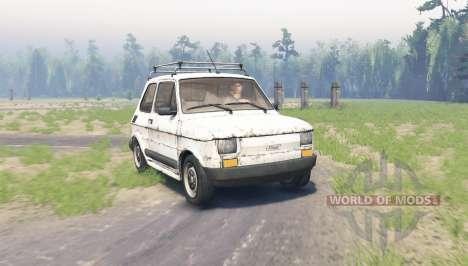Fiat 126p pour Spin Tires