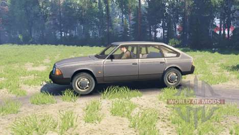 Moskvich 2141 pour Spin Tires