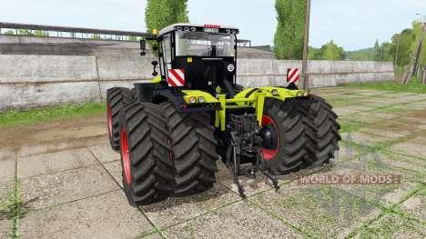 CLAAS Xerion 5000 v1.1.8 pour Farming Simulator 2017