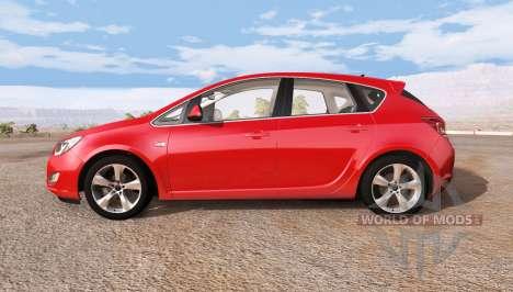 Opel Astra (J) für BeamNG Drive
