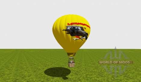 Hot air balloon für Farming Simulator 2015