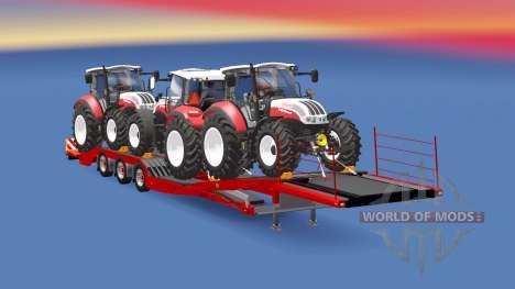 Semitrailer Steyr Multi 4115 für Euro Truck Simulator 2