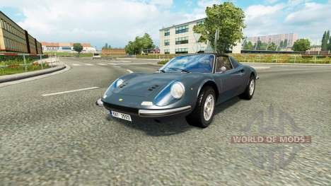 Cars Test Drive Unlimited 2 in traffic v1.2 pour Euro Truck Simulator 2