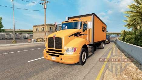 Truck traffic v1.7 pour American Truck Simulator