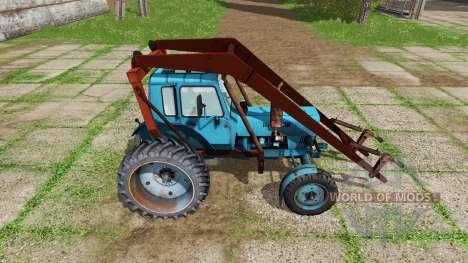 MTZ 80 Biélorussie pour Farming Simulator 2017