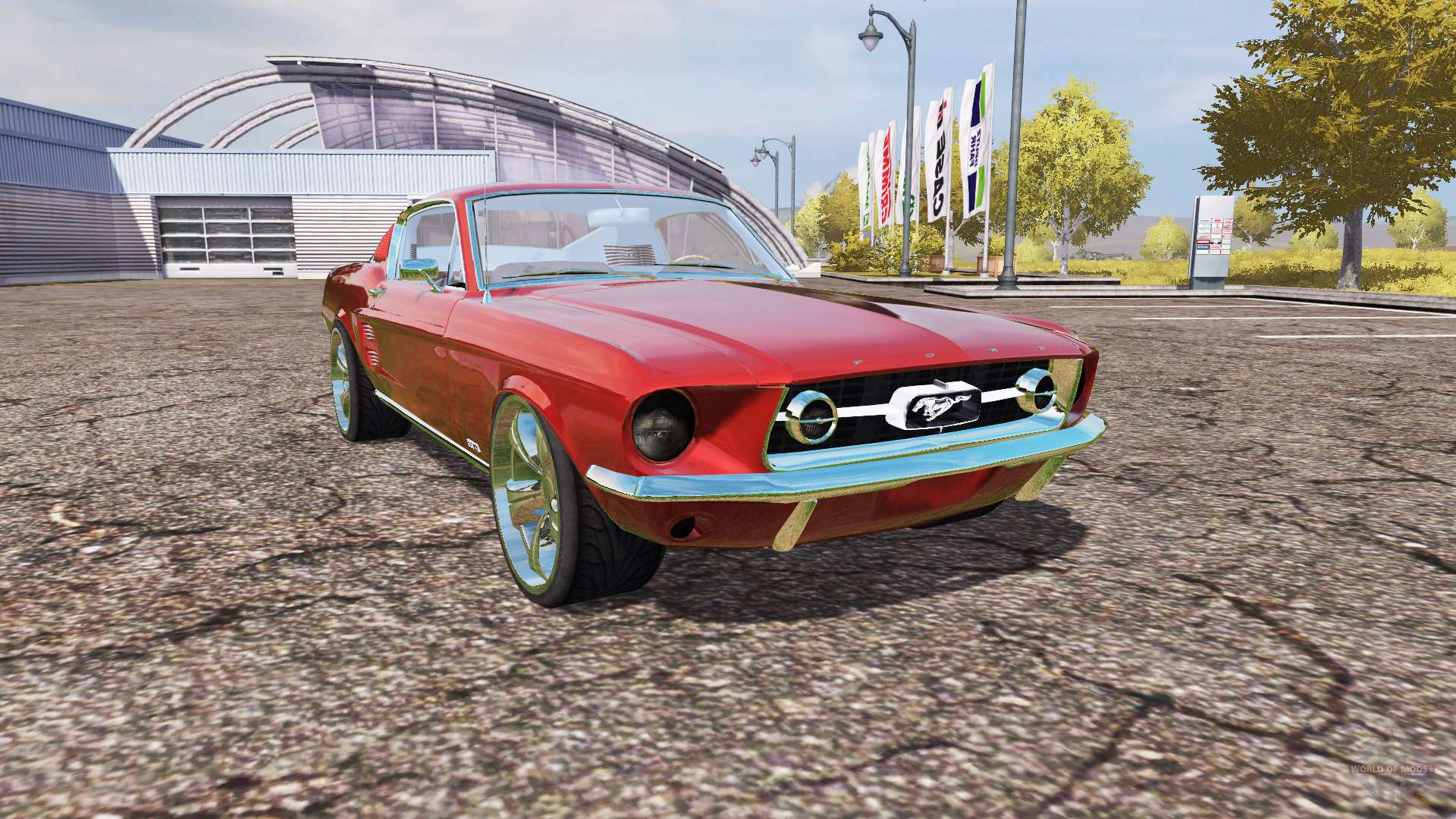 ford mustang 1965 v2 0 f r farming simulator 2013. Black Bedroom Furniture Sets. Home Design Ideas