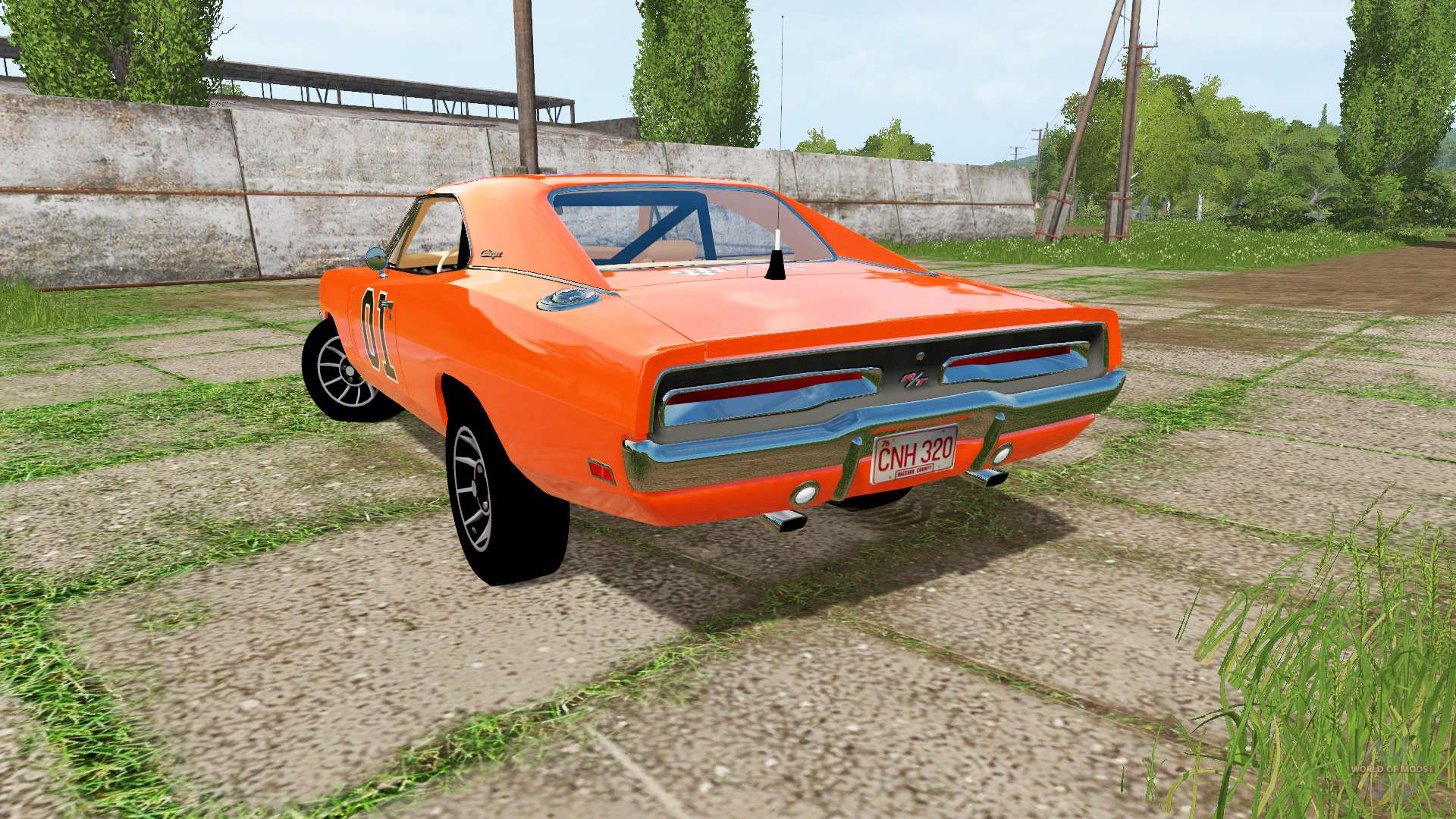 dodge charger rt xs29 1970 general lee pour farming simulator 2017. Black Bedroom Furniture Sets. Home Design Ideas