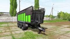 JOSKIN DRAKKAR 8600 black and green pour Farming Simulator 2017