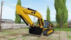 Caterpillar 345B LME für Farming Simulator 2017