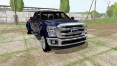 Ford F-350 Super Duty Crew Cab 2016 pour Farming Simulator 2017