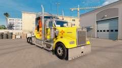 Haut New Mexico auf der LKW-Kenworth W900