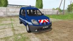Renault Kangoo Gendarmerie für Farming Simulator 2017